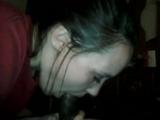 white girl messy head
